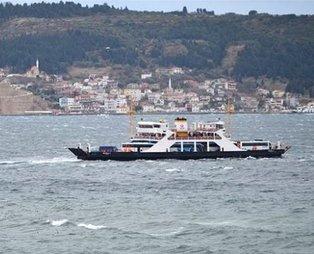 Kuzey Ege'de feribot seferlerine fırtına engeli: Kabatepe-Gökçeada bazı seferler yapılamayacak