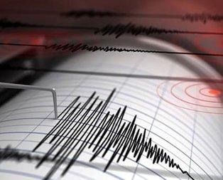 Burdurda korkutan deprem
