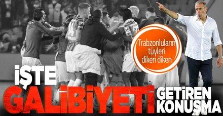 SON DAKİKA: Trabzonspor paylaştı! Abdullah Avcı'nın Fenerbahçe galibiyetini getiren konuşması