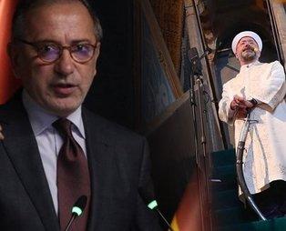 Habertürk'ün baş yazarı Fatih Altaylı'nın Prof. Dr. Ali Erbaş'a attığı iftira karşılıksız kalmadı