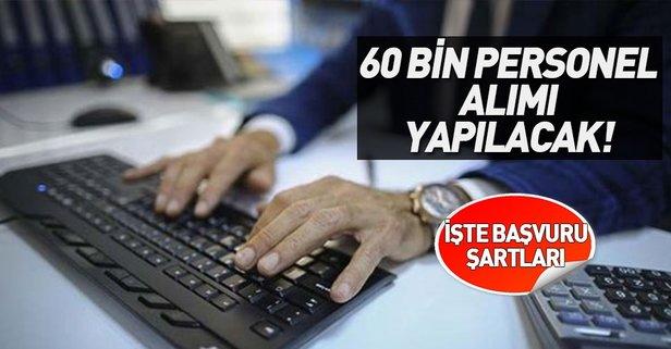 İŞKUR'dan büyük müjde! 60 bin personel alınacak