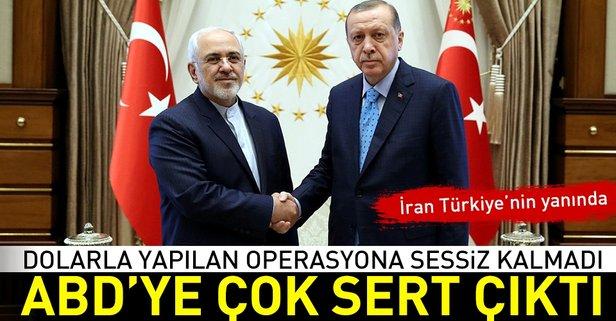 İrandan ABDye Türkiye tepkisi