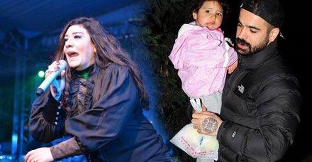 Işın Karacanın Sedat Doğandan olan kızının soyadı değişti