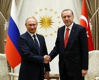 Putin: Erdoğan'a baskıyla sonuç alınamaz