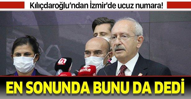 İzmir'de tepki çeken sözler!