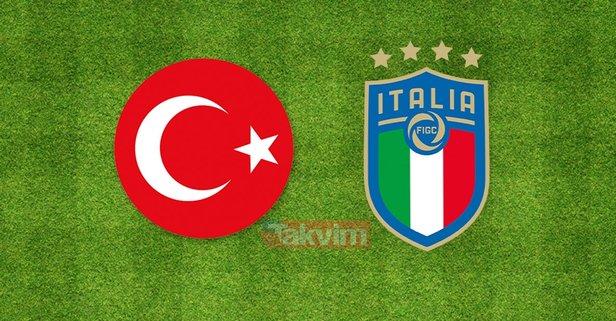 Türkiye İtalya milli maç ne zaman, saat kaçta?