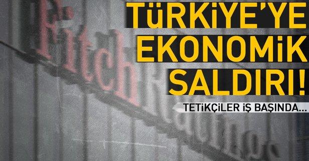 Türkiye'ye ekonomik saldırı!