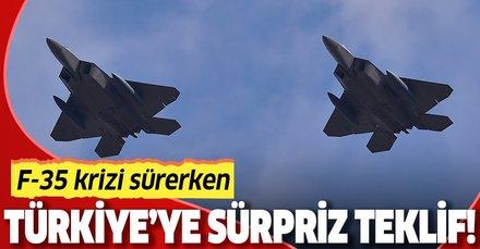 Rusya'dan Türkiye'ye sürpriz savaş uçağı teklifi