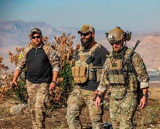 Bu fotoğraf bugün çekildi! ABD'li askerler YPG'li teröristlerle