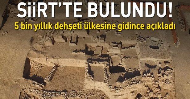 Siirtte 5 bin yıl önce çocuklar kurban edilmiş