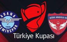 Adana Demirspor - Niğde Anadolu FK | CANLI