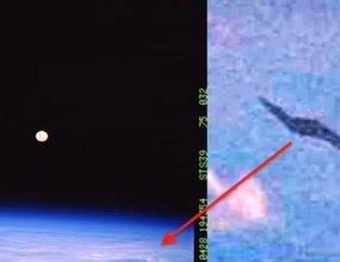 NASA 1991 yılında çekmişti, gerçek 29 yıl sonra ortaya çıktı! Ay fotoğrafında UFO...