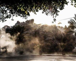 İsrail şehir merkezini bombaladı