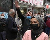 Gelecek Partililer Davutoğlu'nu eleştiren vatandaşa saldırdı