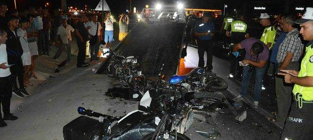 Dalaman'da motosiklet kazası! 2 ölü