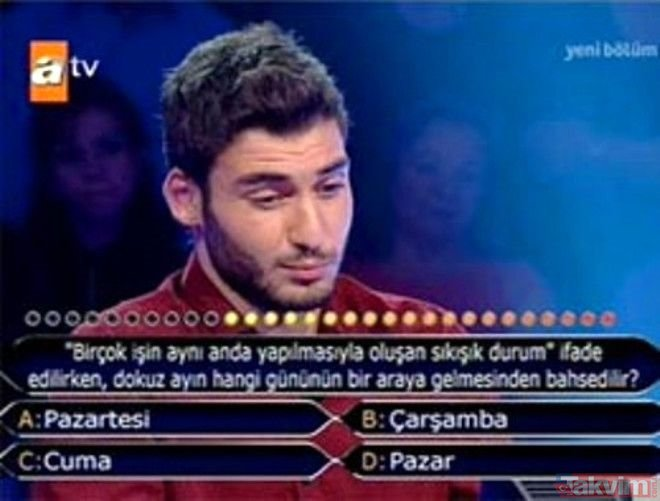 Kim Milyoner Olmak İster'de ilk soruda elenen yarışmacılar ve tepkileri...