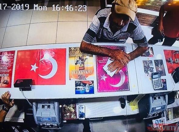 Antalya'da bir şahıs 32 bin lirayı havaya saçtı