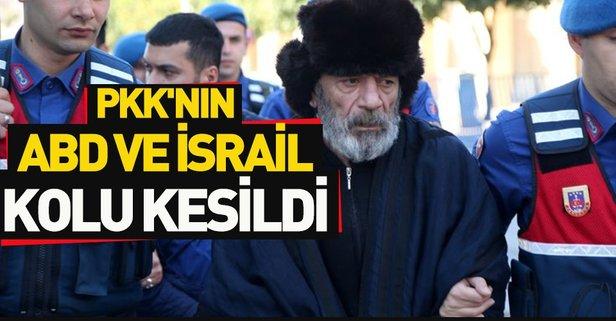 PKK/KCK'nın elebaşılarından Baghestani tutuklandı