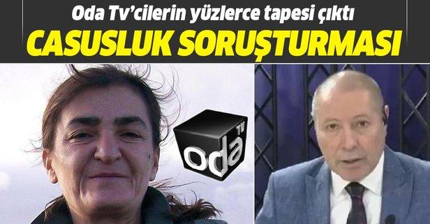 Casusluk soruşturması! Oda Tv'cilerin yüzlerce tapesi çıktı