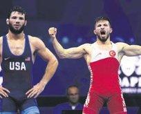 Süleyman Atlı 57 kiloda bronz madalya kazandı