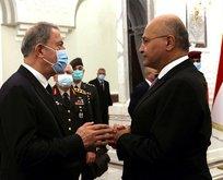Bakan Akar'dan kritik Irak teması