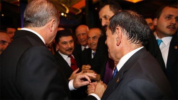 Dursun Özbek, Erdoğana söz verdi