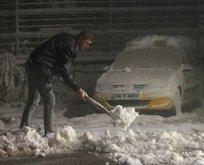 Kar İstanbula dayandı