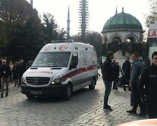 Sultanahmet Meydanı'nda silahlı kavga! Yaralılar var