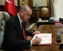 Erdoğan imzaladı! Kritik atama