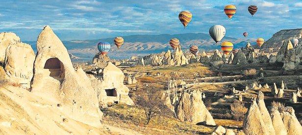 550 bin Çinli turist geliyor