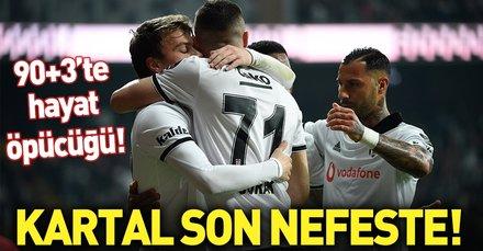 Kartal son nefeste | Beşiktaş 3-2 Konyaspor