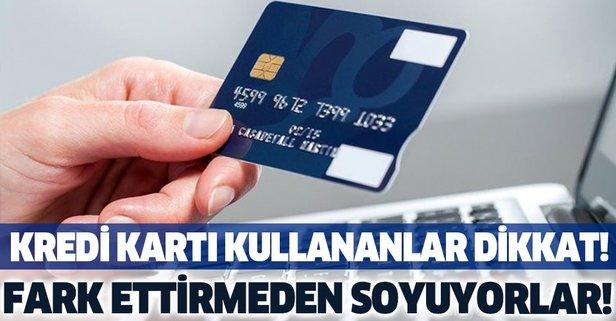 Kredi kartı aidatında 'iade' dolandırıcılığı