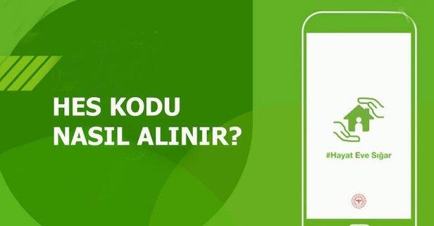 HES kodu nasıl alınır? E-devlet, SMS süresiz HES kodu alma ekranı!