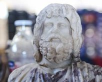 Burdur'da Yunan ve Mısır tanrısı heykelleri bulundu