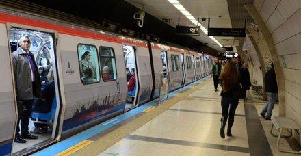 Metro seferlerinde milli maç düzenlemesi