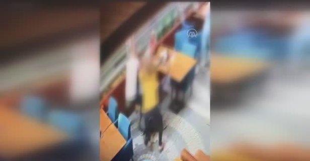 Karısını döven şahsı kadınlar dövdü!