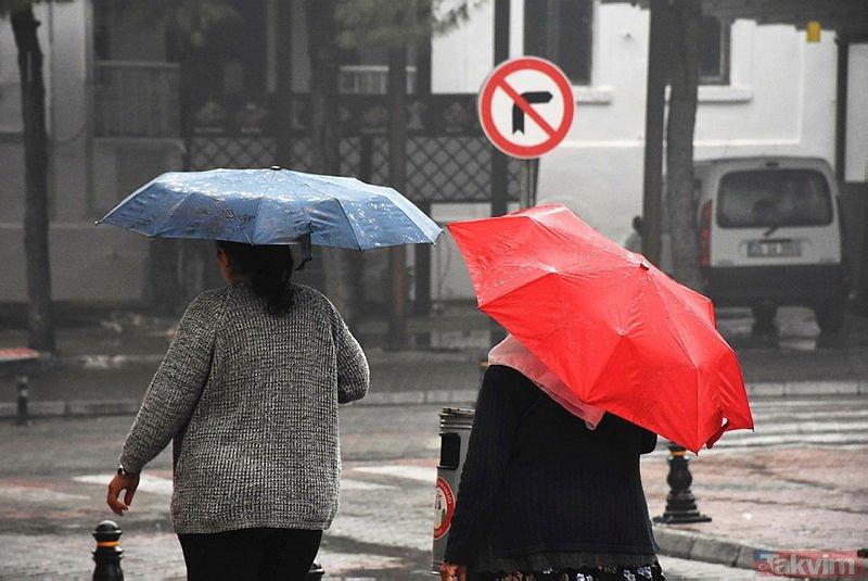 Meteoroloji'den son dakika sağanak uyarısı! 20 Haziran 2019 Perşembe hava durumu