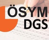 DGS taban puanları 2019! Geçiş bölümleri ve kontenjanları
