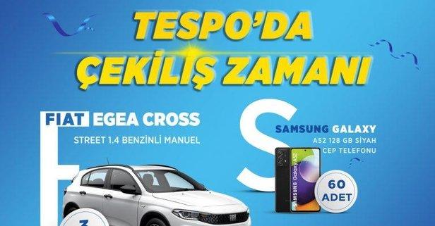 Fiat Egea ve Samsung Galaxy A52 kazanan talihliler