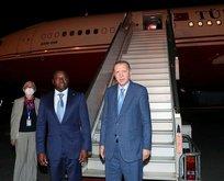 Başkan Erdoğan Nijerya'ya geldi