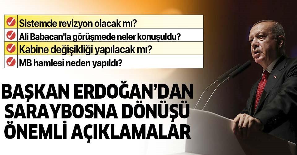 Başkan Erdoğan: 8 aylık hükümetler dönemi kapandı