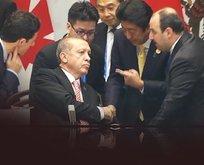 Japonya ekibinden Erdoğana özel ilgi