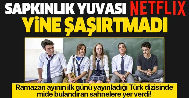 Ramazanda yayınlanan Türk yapımı dizide mide bulandıran sahneler