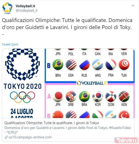 A Milli Kadın Voleybol Takımı Tokyo vizesini kaptı! Dünya basınında çok konuşuldu