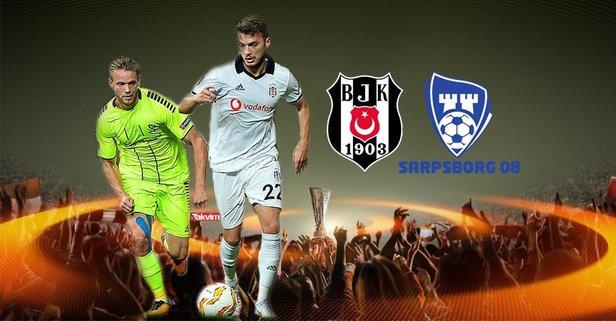 Sarpsborg 08 - Beşiktaş maçı hangi kanalda?