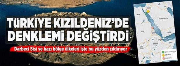 Türkiye Kızıldeniz'de denklemi değiştirdi