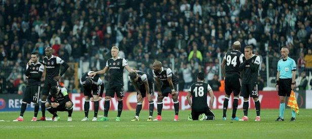 Beşiktaş UEFA Avrupa Ligine veda etti!