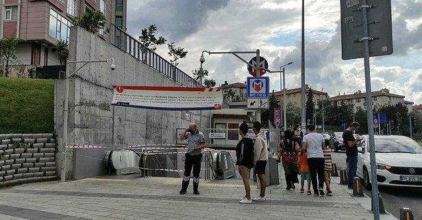 Mecidiyeköy-Mahmutbey Metro Hattı'nda yangın
