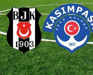 Beşiktaş - Kasımpaşa ilk 11'ler belli oldu!