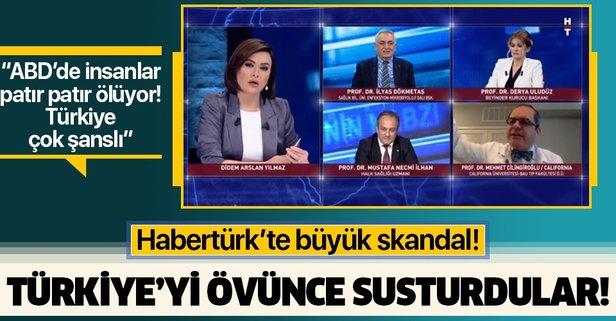 Habertürk'te Türkiye'yi övmek yasak!